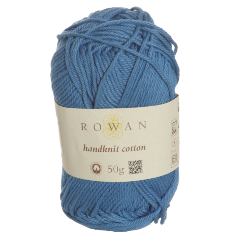 Handknit cotton ball