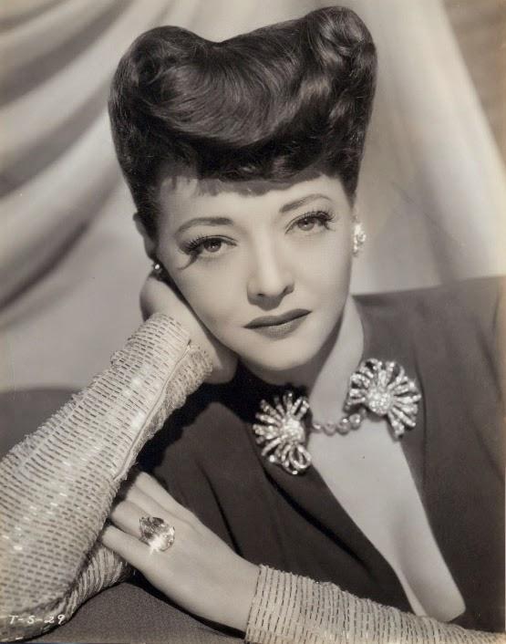 Actress Sylvia Sydney