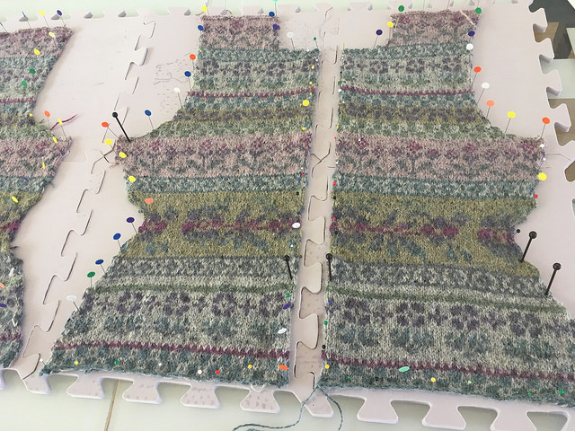 Lily fronts blocking