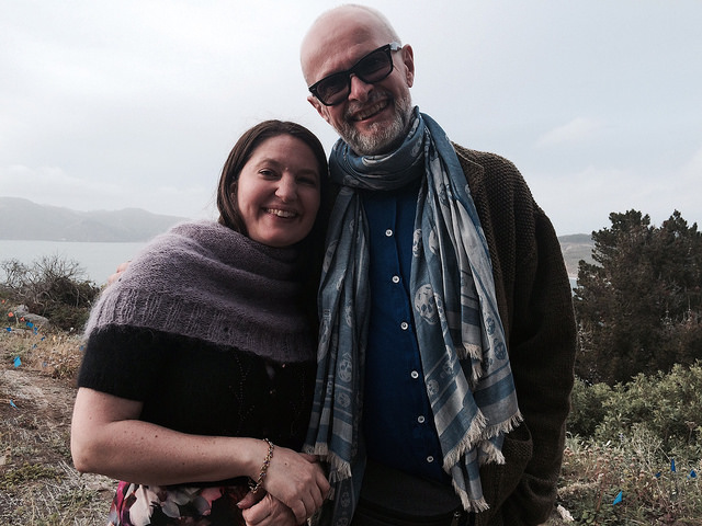 Me and Martin Storey in SF