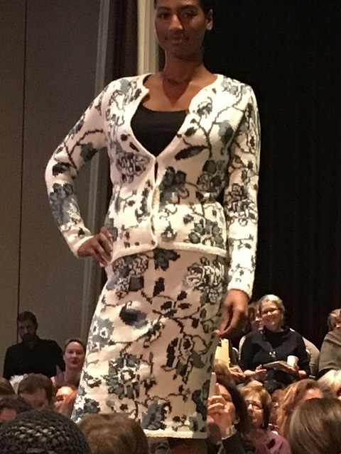 Front of Richardson porcelain inspired suit