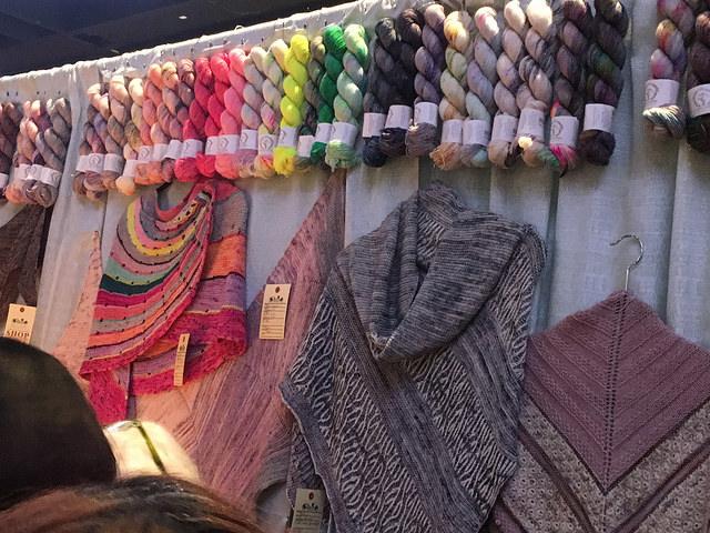 Hanging la bien aimee yarns