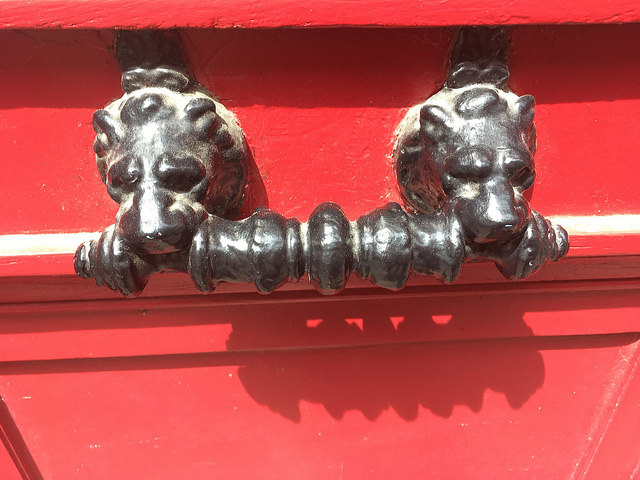 Lionshead door knocker