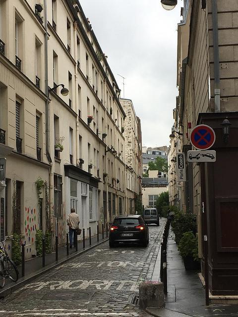 Narrow Paris street