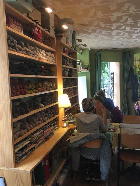 Cozy tearoom