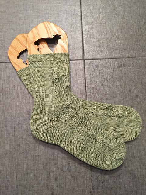 Valbou's socks on blockers