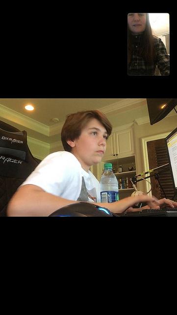 Facetime tutoring Andrew