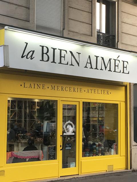 La Bien Aimee closeup