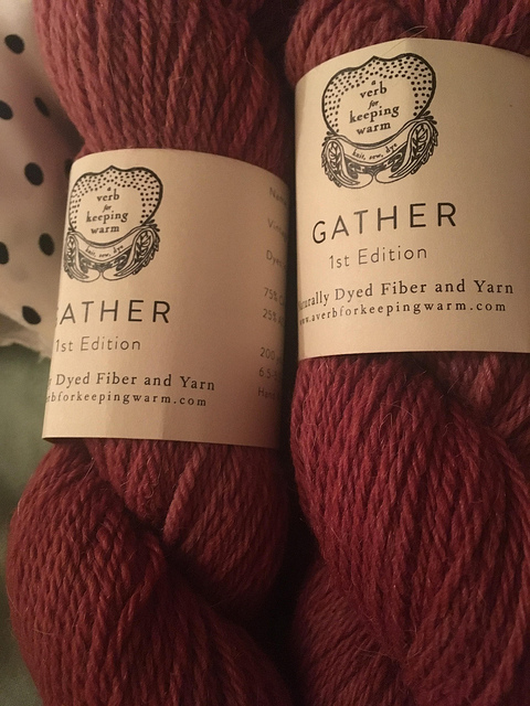 Gather Red Pear Colorway
