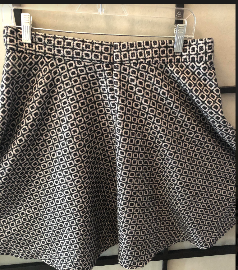 First Wool skirt in progress