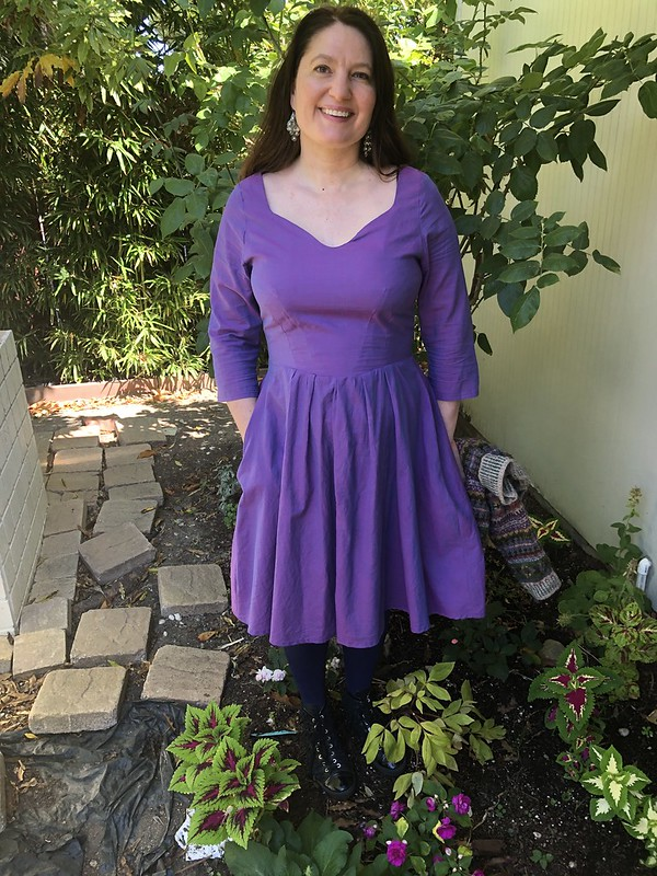 Purple Simplicity 2444 lined
